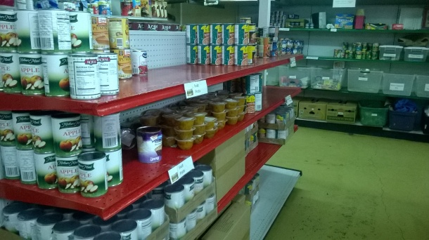 Inside the Food Pantry!